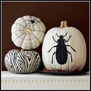 Halloween vinyl decal pumpkins