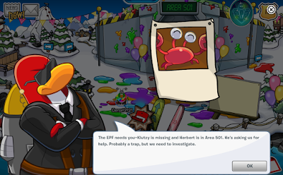 Club Penguin Operation Crustacean Backup Power Cheats