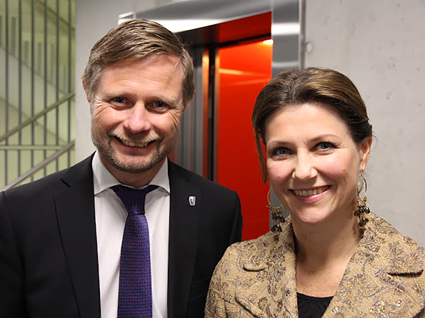 Princess Martha Louise visits the Department of Care Services