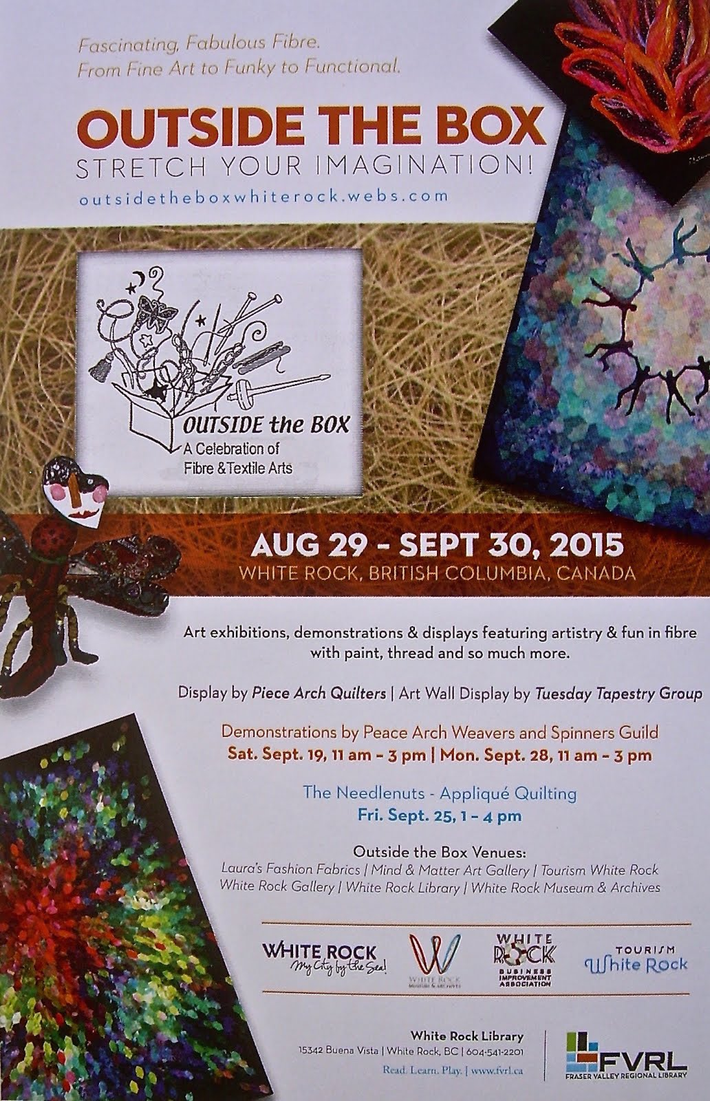 5th Annual OUTSIDE THE BOX Festival