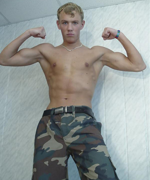 Shirtless Teen Muscle 50