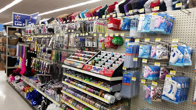 Get the supplies you need right in the crafting aisle.