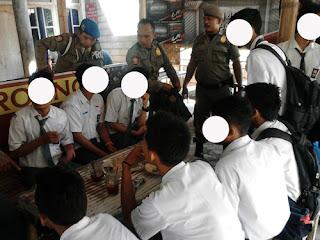 Gelar Razia, Satpol PP Ponorogo Jaring 24 Pelajar