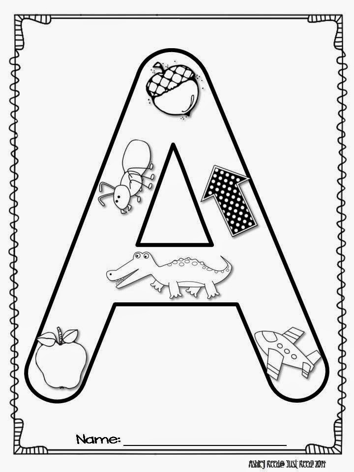 Ashley Coloring Pages Alphabet Coloring Pages