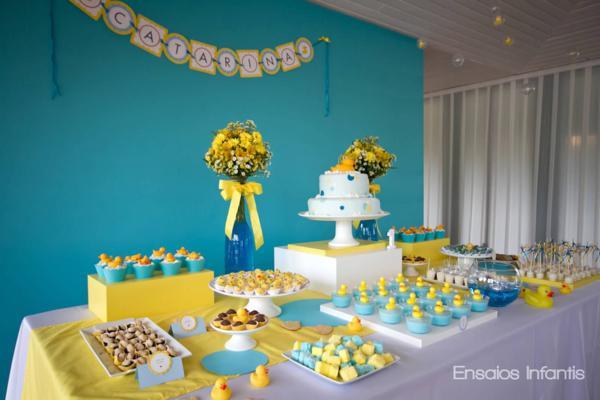 decoracao azul e amarelo para aniversario:Coisas da Lívia: Festa de aniversário Azul e amarelo