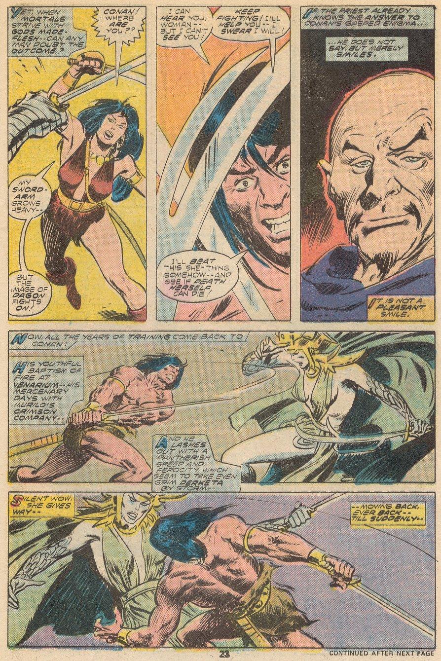 Conan the Barbarian (1970) Issue #66 #78 - English 15