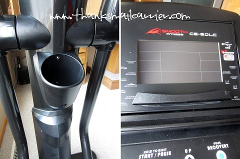 Smooth Fitness Elliptical features