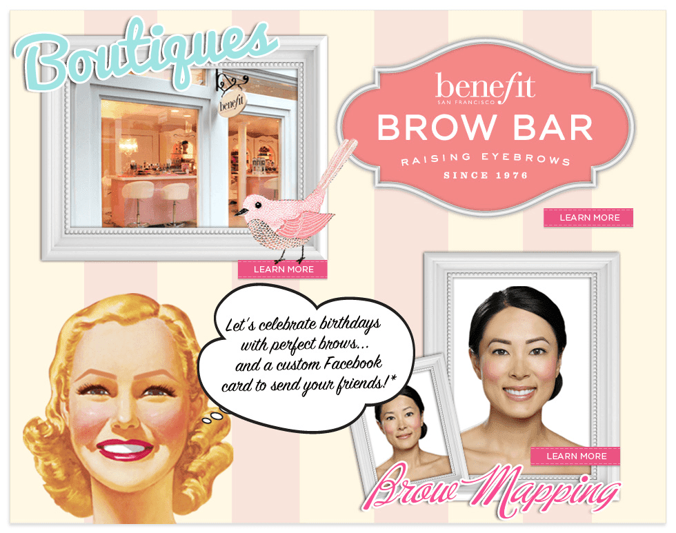 Benefit's Brow Bar Review - B Loved Boston