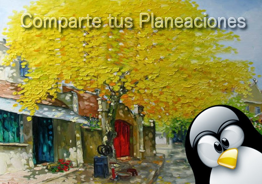 Comparte tus Planeaciones