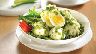 telur sambal hijau