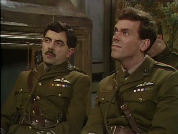 Mr Bean And Mr House - Blackadder