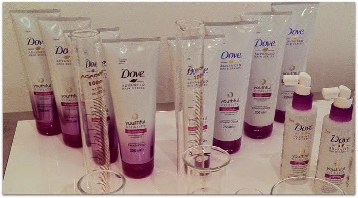 Dove Advanced Series Youthful Vitality Haircare