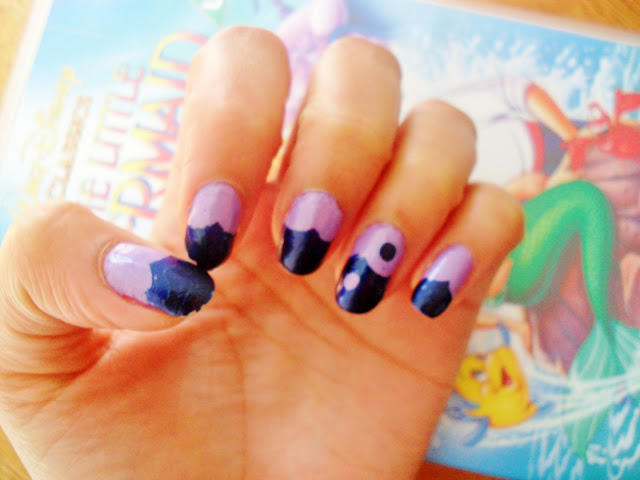 ✄ diy scalloped edge nail tutorial ✄