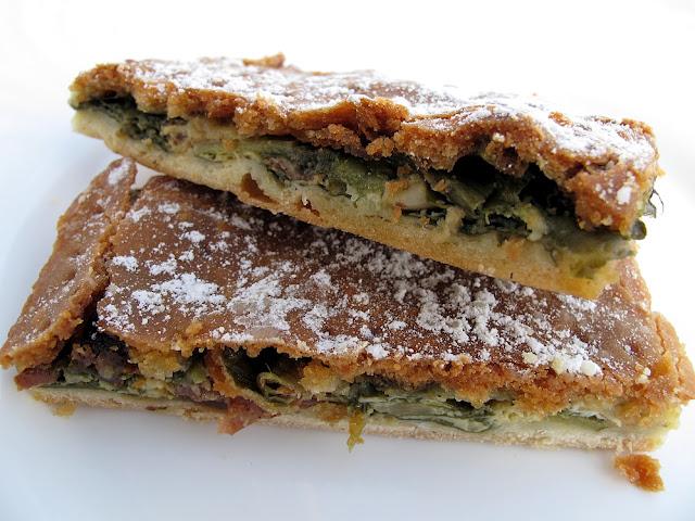 Tourte de blette sucrée - Boulangerie Veziano - Antibes