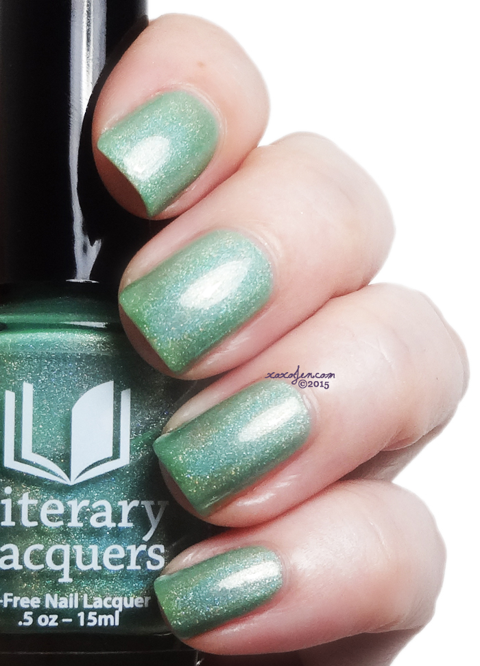 xoxoJen's swatch of Literary Lacquers Phizzwizard