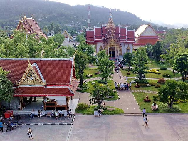 Chalong Temple  Phuket, Thailand