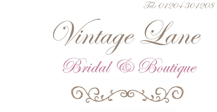 Vintage Lane Bridal Boutique, Manchester | Genuine Vintage Wedding Dresses