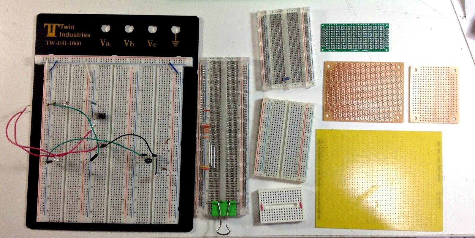 Макетные платы бывают разные. Инструкция по работе с макетной платой.