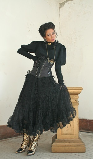 The Victorian Gothic Punk Dresses