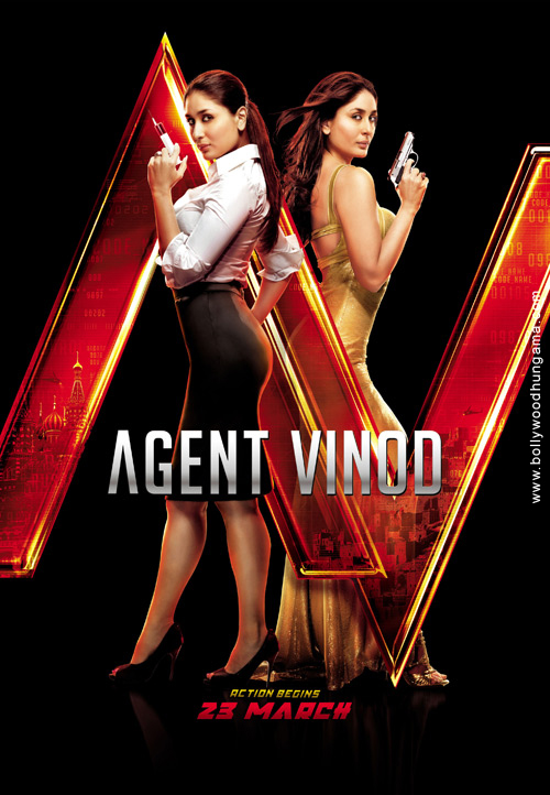 Recent Themes In 2012: Agent Vinod (2012)