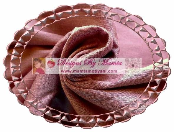 Pink Silk Fabric