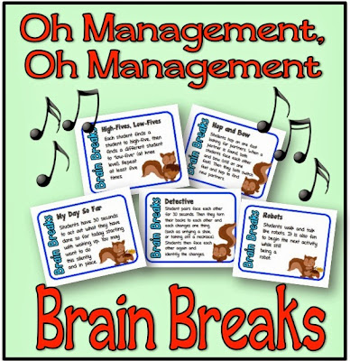 http://www.teacherspayteachers.com/Product/Brain-Breaks-60-Quick-and-Fun-Activity-Cards-Your-Students-will-LOVE-956957