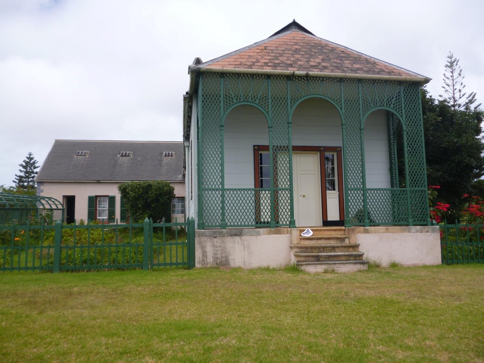 Istebna around the world saint helena island for Longwood house