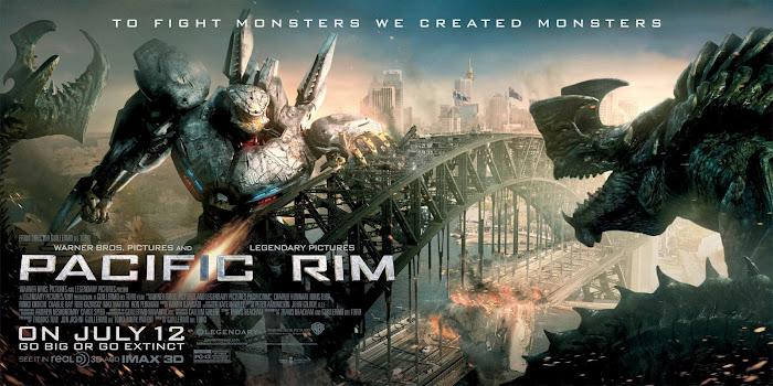 ตัวอย่างหนังใหม่ : Pacific Rim ซับไทย (สงครามอสูรเหล็ก) poster