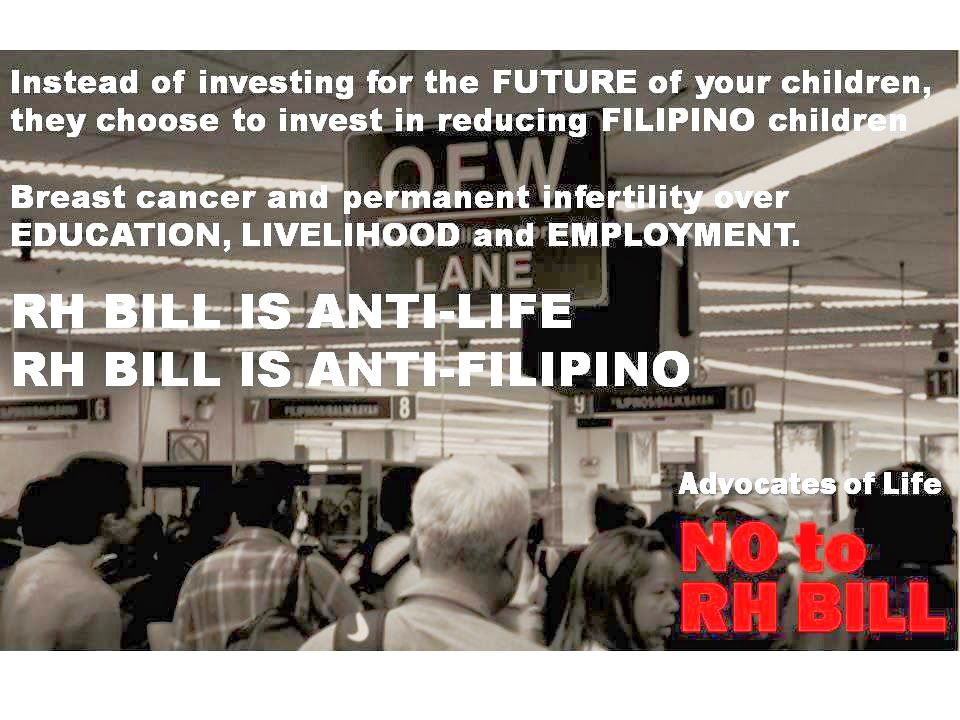 rh bill right or wrong Why no to rh bill what is immoral  if the right of privacy means anything,  there is no wrong with protecting the child and the generation yet unborn to live.