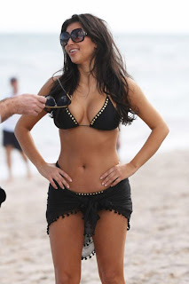 Kim Kardashian, Kim Kardashian Miami Beach Photos