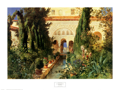 Artewais los jardines del generalife for Jardines generalife