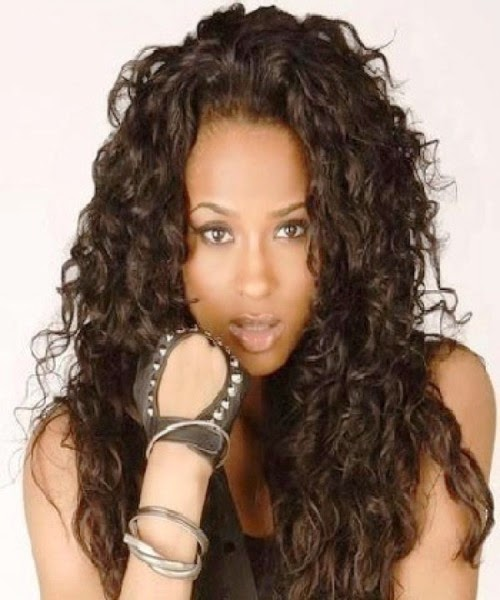 curly hairstyles black women
