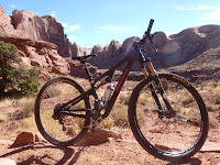 Hamasa Single Track trail via Amasa Back, Moab, UT