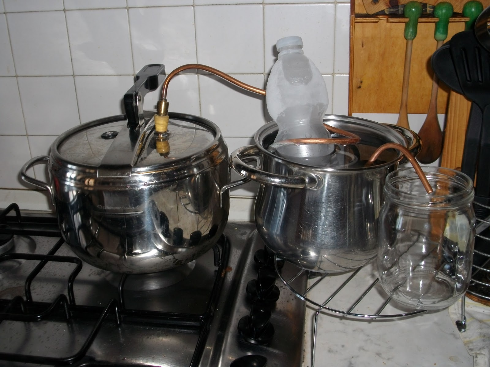 Magica natura la distillazione in corrente di vapore - Diffusore oli essenziali fatto casa ...