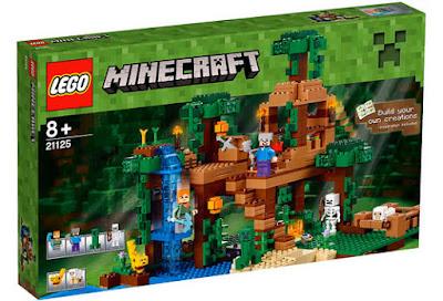 TOYS : JUGUETES - LEGO Minecraft  21125 The Jungle Tree House  Casa del Árbol en la Selva Comprar en Amazon España & buy Amazon USA