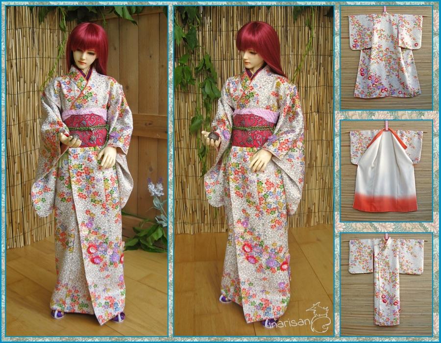 Кимоно для куклы своими руками 24