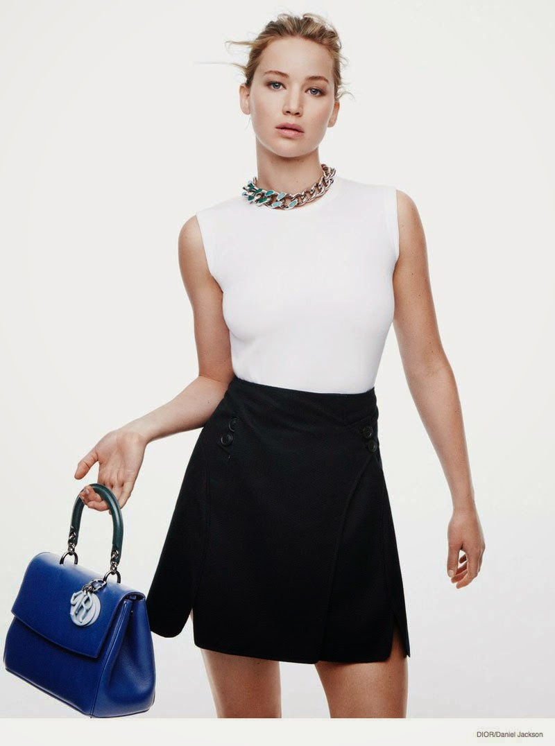 Jennifer Lawrence is elegant for a new Dior photoshoot by Daniel Jackson