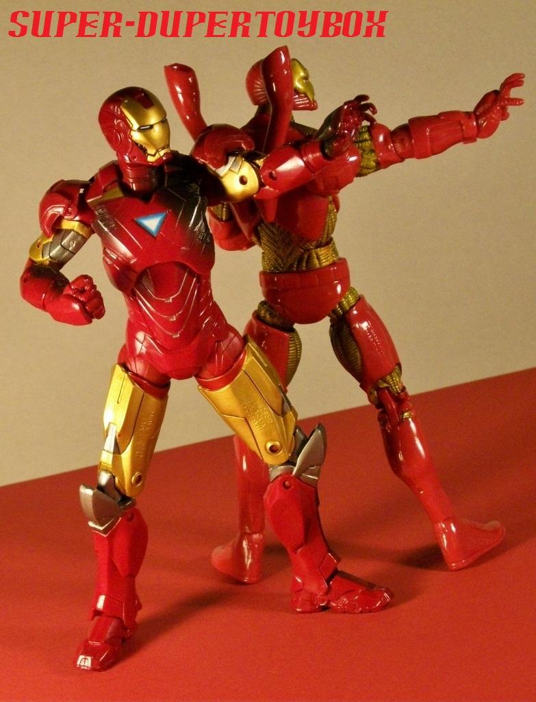 Iron Man Mark I Translucent Orange Hasbro Marvel Handful of Heroes Wave 1 2