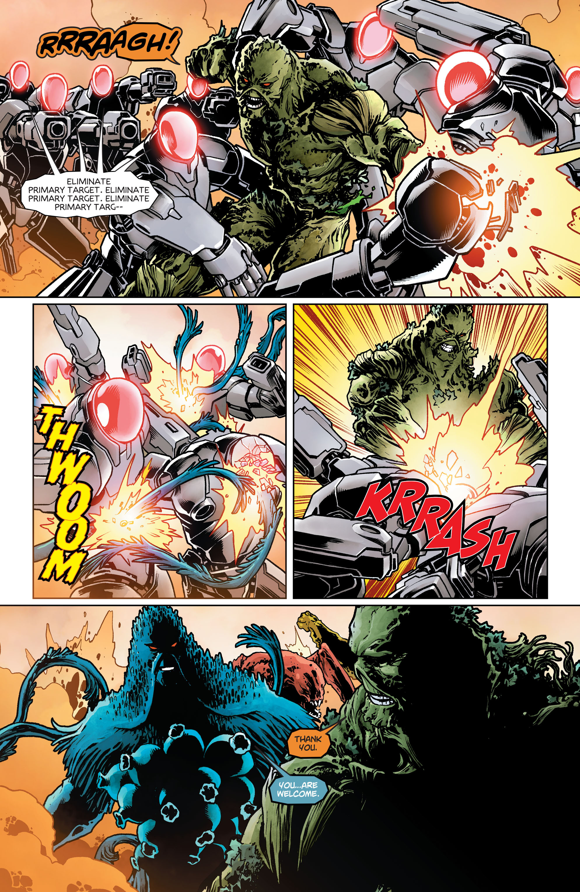 Swamp Thing (2011) Issue #40 #45 - English 12