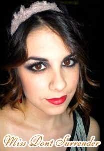 maquillaje años 20 por Montse