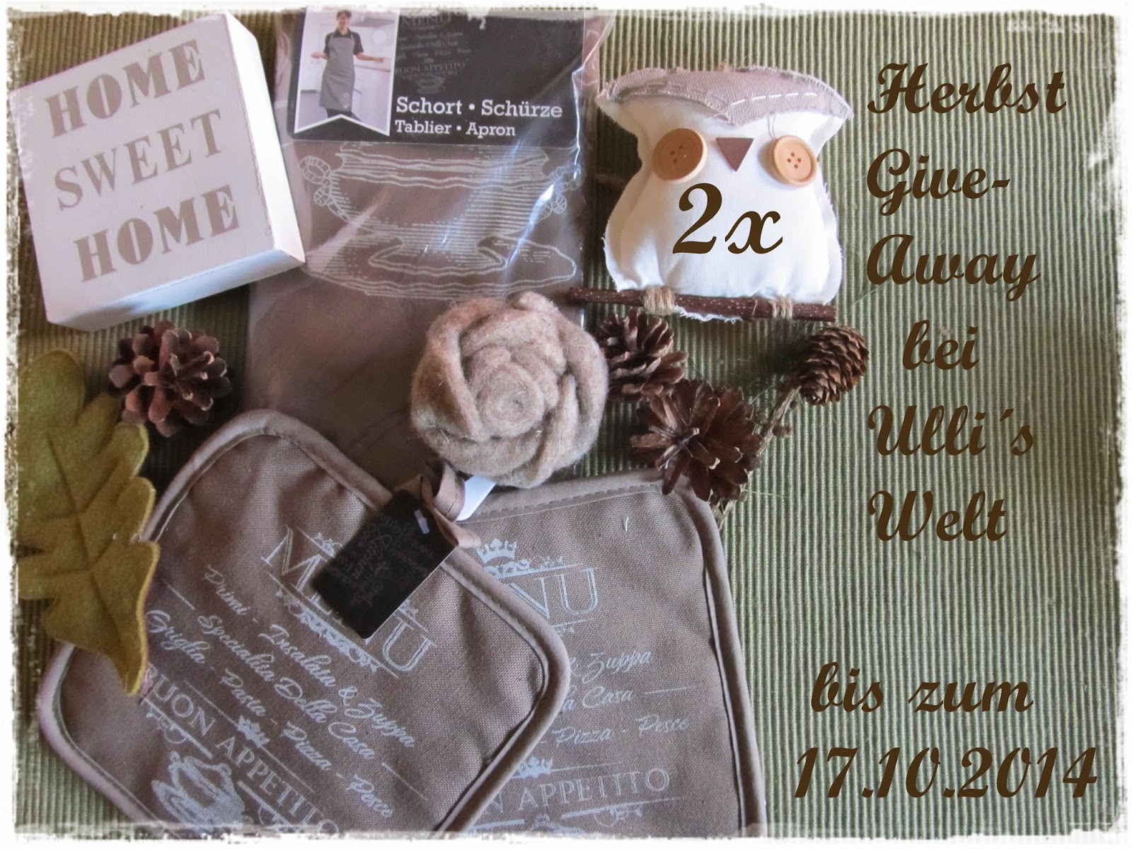 Herbst-Give-away bei Ulli ♥