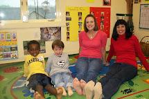 Barefoot Teacher School Class
