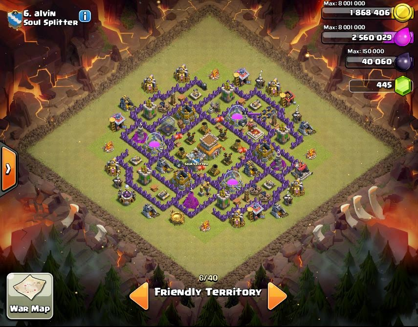 Alvin - Clan War Base