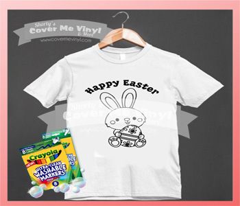 Color Me Happy Easter Shirt Kit