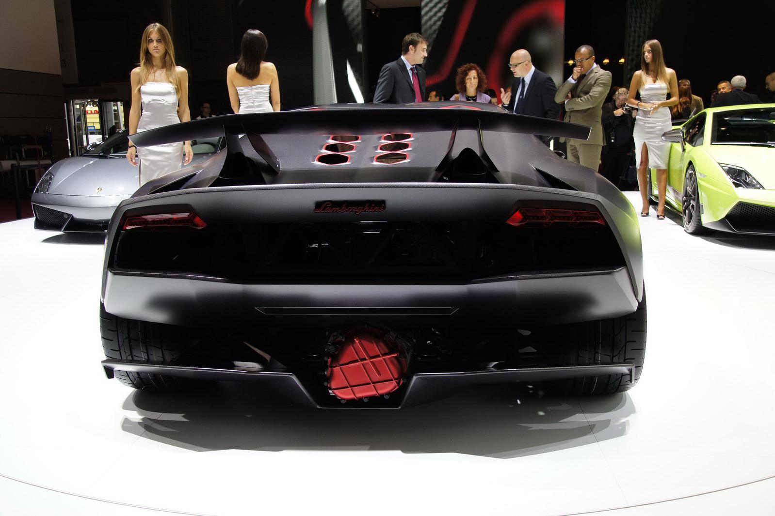 Luxury Cars Lamborghini Sesto Elemento