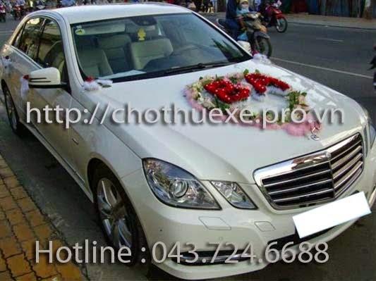 Cho thuê xe cưới hạng sang VIP Mercedes uy tín tại Hà Nội