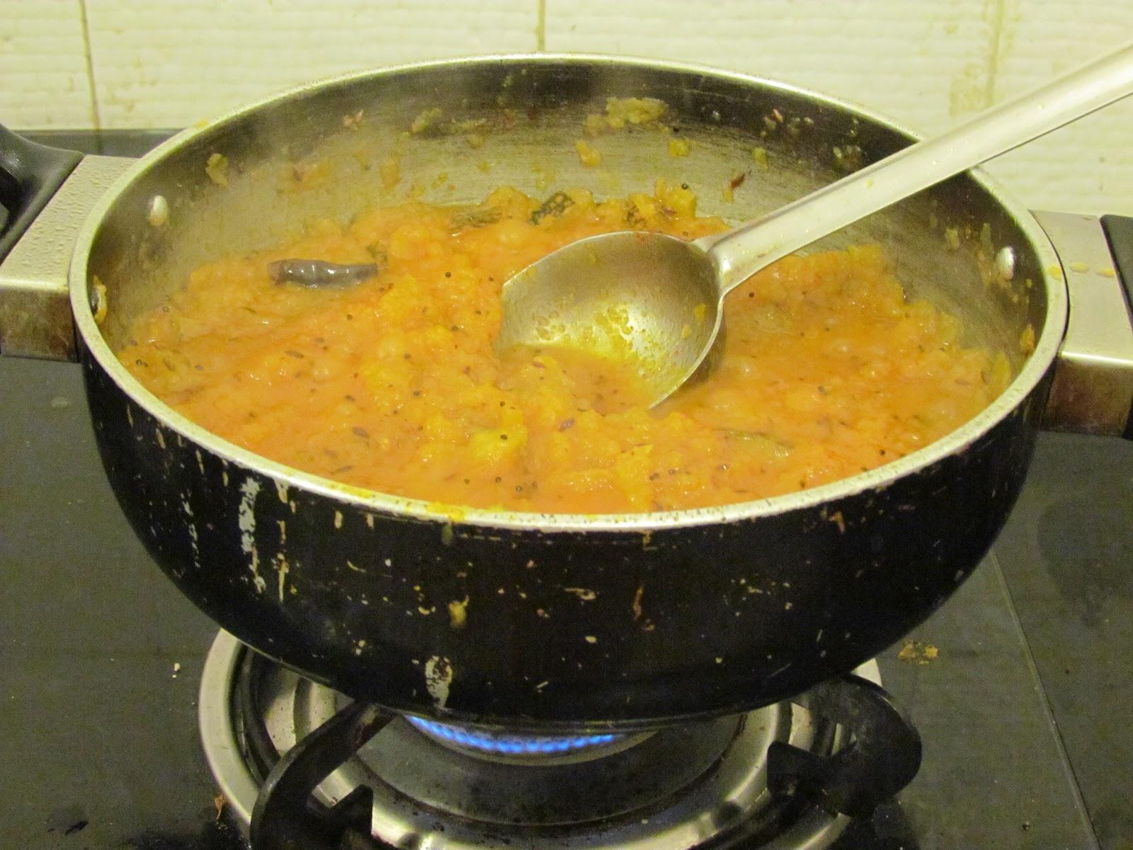 how to make kaddu ki sabji