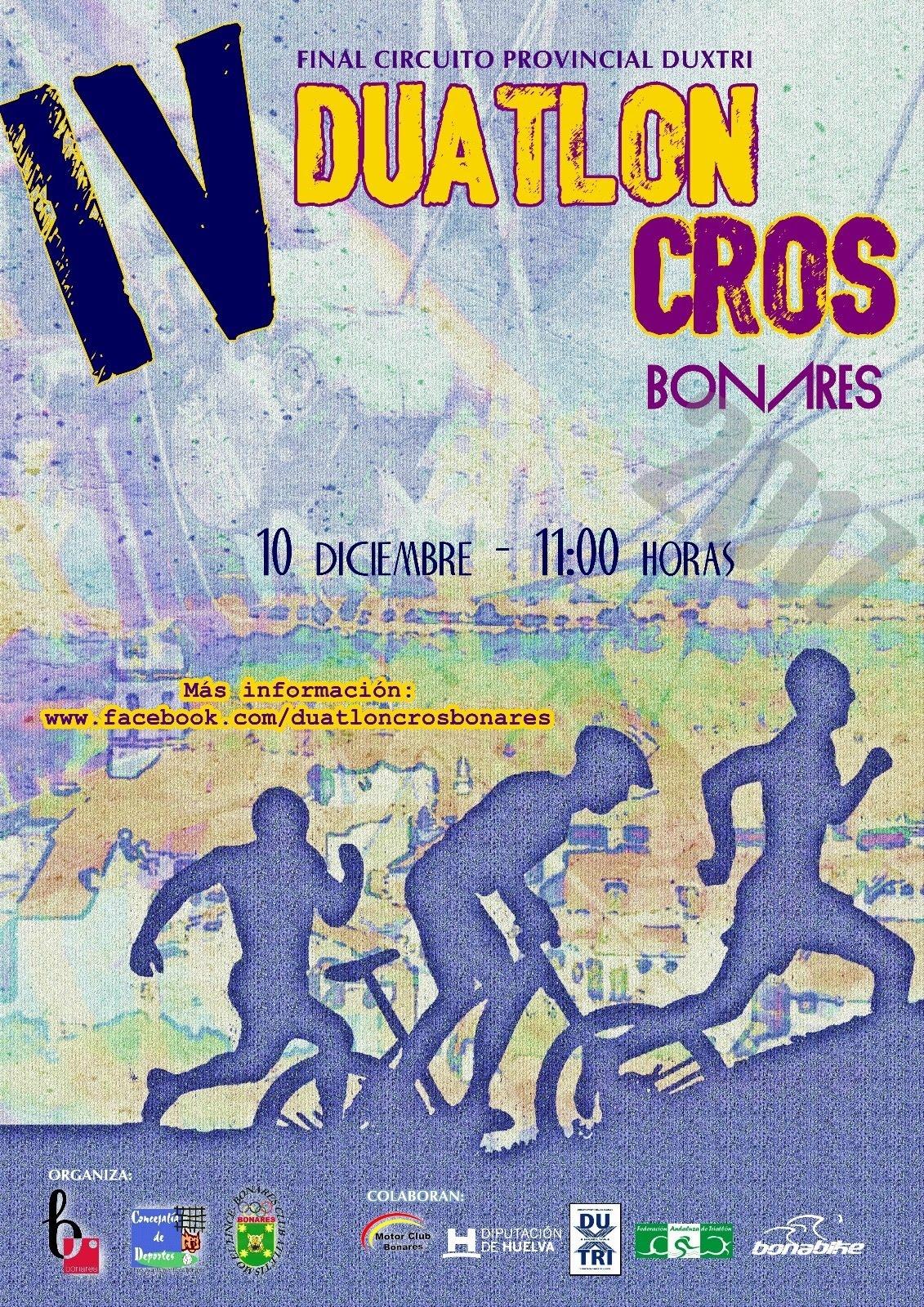 IV DUATLÓN CROS BONARES