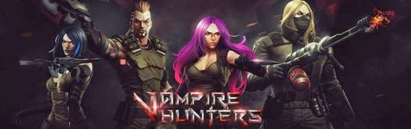 Vampire Hunters Board Game kickstarter news