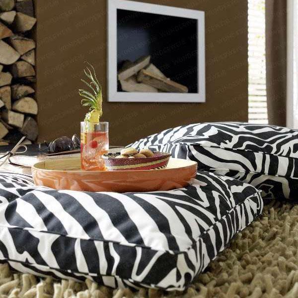 4 Zebra Cusion Designs For Living Room Sofa House